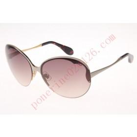 2016 Cheap Miu Miu SMU51O Sunglasses, Gold Tortoise
