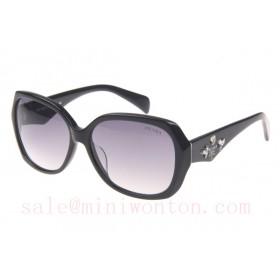 Prada SPRDA1 Sunglasses In Black Grey