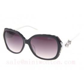 Prada SPRDA1 Sunglasses In Black
