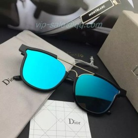 Raf Simons Dior Sunglasses in Blue Lens