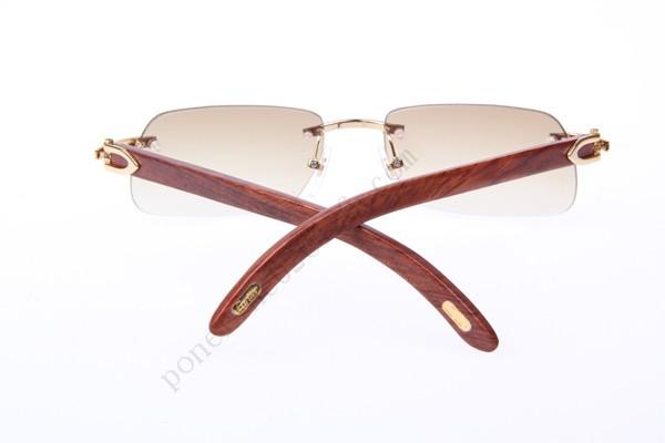 09ca87b20775 2016 Cartier 4189706 Wood Sunglasses