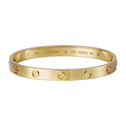 réplique Cartier Love bracelet en or jaune est livré avec un tournevis
