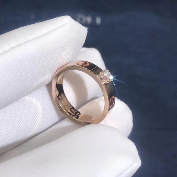 Cartier Love Solitaire Ring