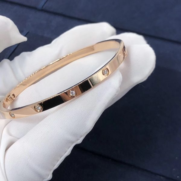 Cartier Love Bracelet, small model, 10 diamonds