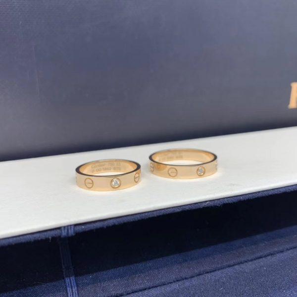 Cartier Love Ring, 1 diamonds