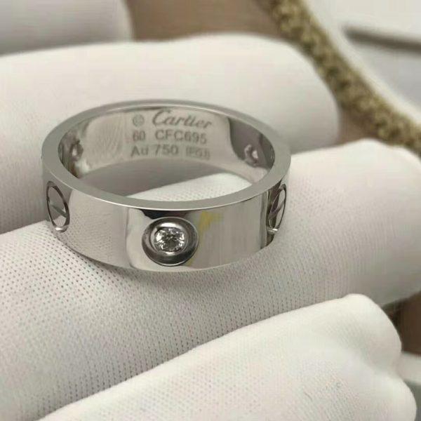 Cartier Love Ring, 3 diamonds