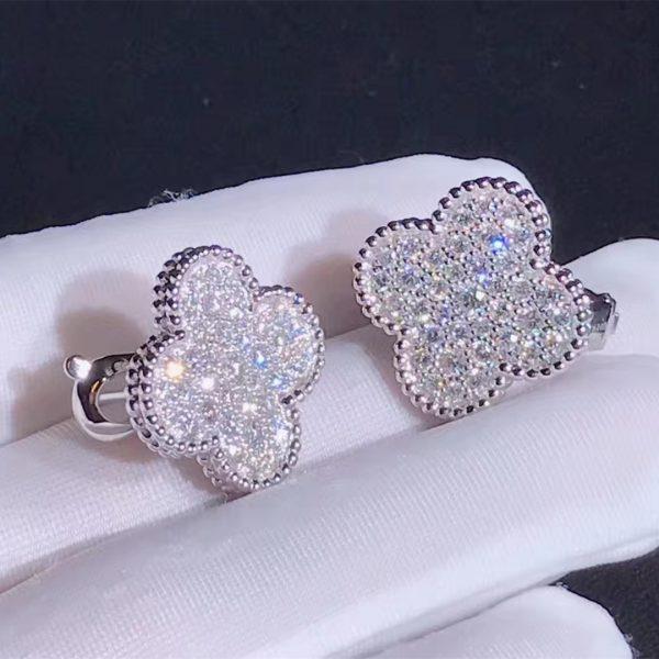Van Cleef & Arpels Magic Alhambra earrings
