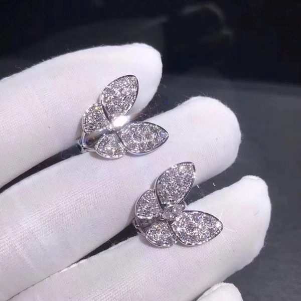 Van Cleef & Arpels Two Butterfly Between the Finger ring