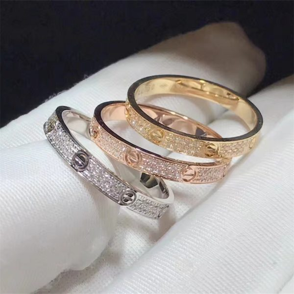 Cartier Love ring, small model