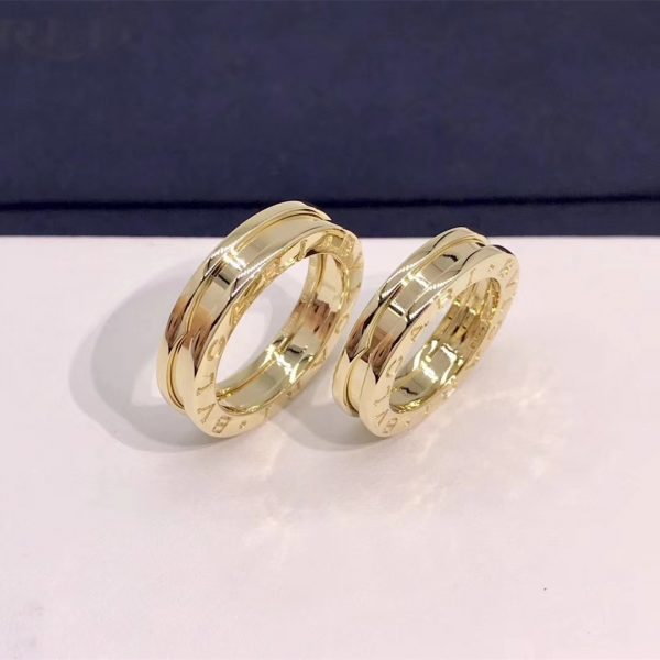 Bvlgari B.zero1 one-band ring in 18 kt yellow gold