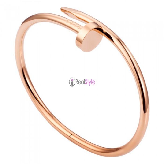 cartier juste un clou plated real 18k pink gold bracelet B6037717 replica