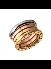 Bvlgari B.ZERO1 ring 3-gold 4 band ring AN857650 replica