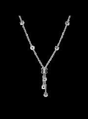 Bvlgari B.ZERO1 necklace white gold small pendant CL853896 replica