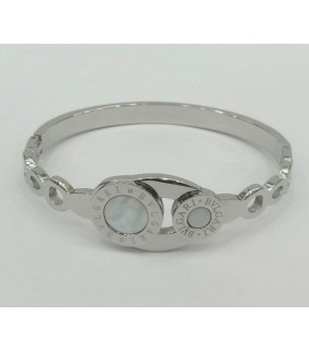 Bulgari Bvlgari Bracelet in White Gold with Mother of Pearl