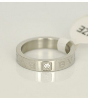 Bvlgari Engagement Ring in 18kt White Gold With Diamond