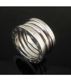 Bvlgari B.ZERO1 3-Band Ring in 18kt White Gold
