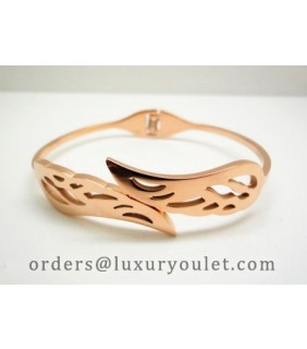Cartier Wing Bracelet in 18kt Pink Gold