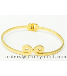 Cartier Hairpin Bracelet in 18k Yellow Gold