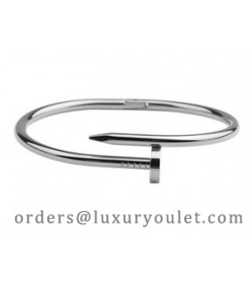 Cartier JUSTE UN CLOU Bracelet in 18k White Gold