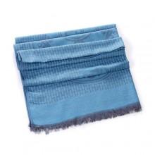Discount Hermes Wool Shawl Scarf Blue Sale