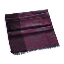 Discount Hermes Wool Shawl Scarf Rose Black Sale