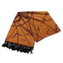 Discount Hermes Wool Shawl Scarf Yellow Sale