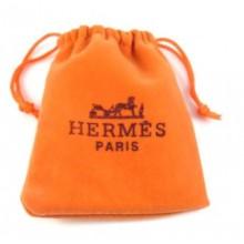Hermes Velvet Pouch - 12cm*10.5cm