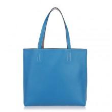 Hermes Leather Shoulder Bag H1039 Blue