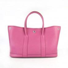 Hermes Garden Party Bag Peachblow