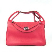 Hermes Lindy 34CM Shoulder Bag Red