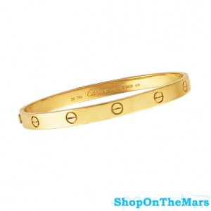 Cartier 18 K Gold Plated Love Bracelet