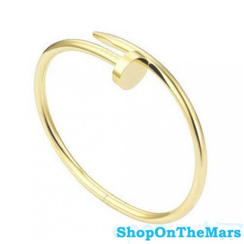 67dc689f094b0 High Quality Cartier Inspired Nail Bracelet Gold Nail Bangle Bracelet