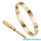 Cartier Original Design Rose Gold Plated Love Bracelet without Diamonds