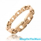 Cartier Mens Love Bracelet Rose Gold Wide Chain