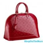 Fashion Quality Monogram Vernis Alma GM Handbag