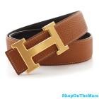 WTS Hermes Leather H Belt replica Original Design Hermes Belt