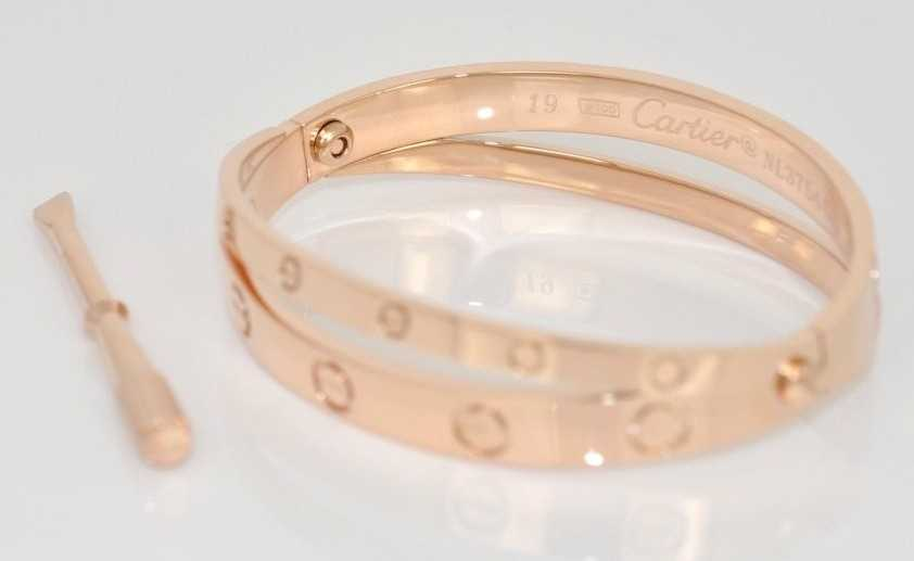 Cartier Rose Gold Love Bracelet
