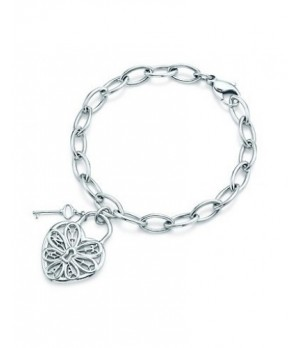 Tiffany hollow heart bracelet replica
