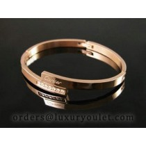 Cartier Pink Gold LOVE Bracelet with Diamonds
