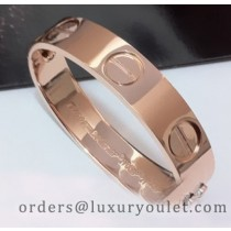 Cartier 18kt Pink Gold LOVE Bracelet, Wide