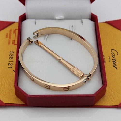Cartier Love bracelet pink gold replica B6035616