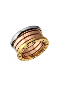 Bvlgari B.ZERO1 ring 3-gold 4 band ring AN857650 replica