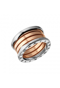 Bvlgari B.ZERO1 ring 3-gold 4 band ring AN857651 replica