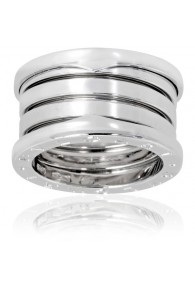 Bvlgari B.ZERO1 ring white gold 4 band ring AN191026 replica
