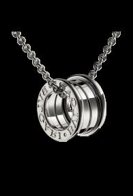 Bvlgari B.ZERO1 necklace white gold 4 band pendant CL857832 replica