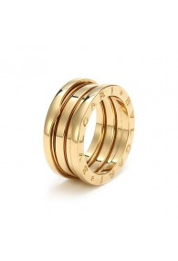Bvlgari B.ZERO1 ring yellow gold 3 band ring AN191023 replica
