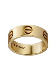 cartier love ring yellow gold wide version ring replica