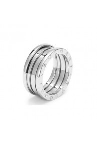 Bvlgari B.ZERO1 ring white gold 3 band ring AN191024 replica