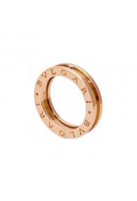 Bvlgari B.ZERO1 ring pink gold 1 band ring AN852422 replica